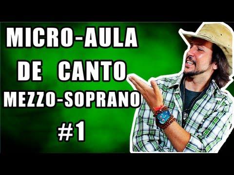 Micro Aula de Canto Feminino 01 – Mezzo-Soprano