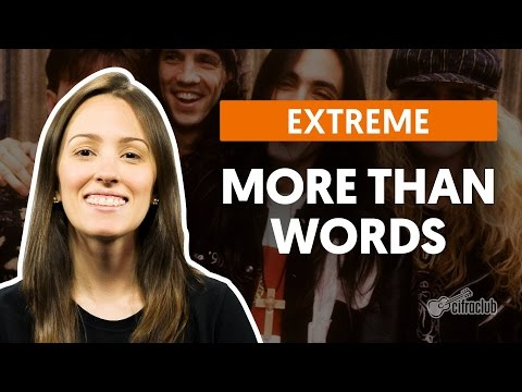 Como fazer segunda voz – More Than Words – Extreme